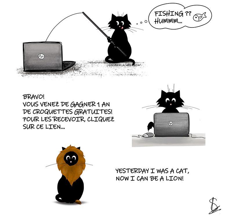 Cybersécurité Hameconnage